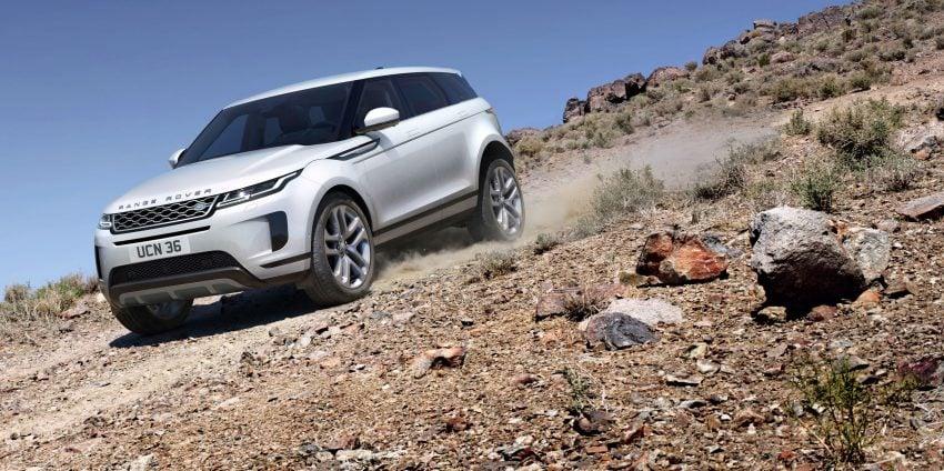 第二代 Range Rover Evoque 面世,搭载轻油电混动系统 Image #83242