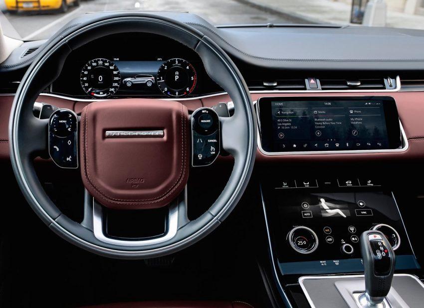 第二代 Range Rover Evoque 面世,搭载轻油电混动系统 Image #83199
