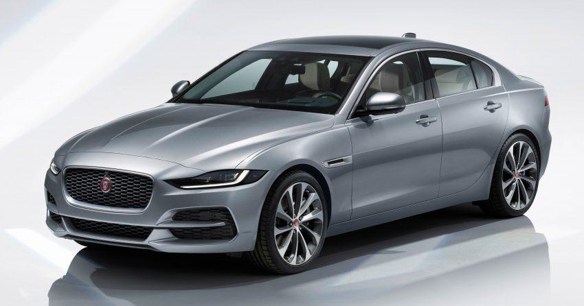 Jaguar XE 小改款发布,新引擎、外型设计再进化 Image #89065