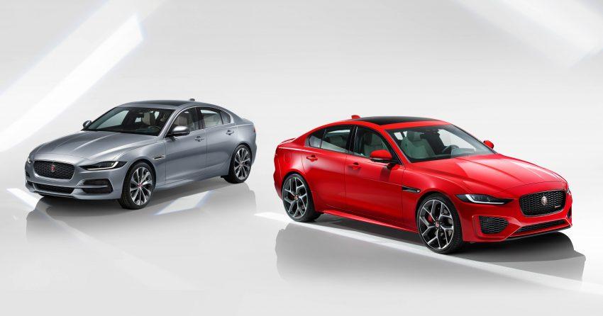 Jaguar XE 小改款发布,新引擎、外型设计再进化 Image #89070