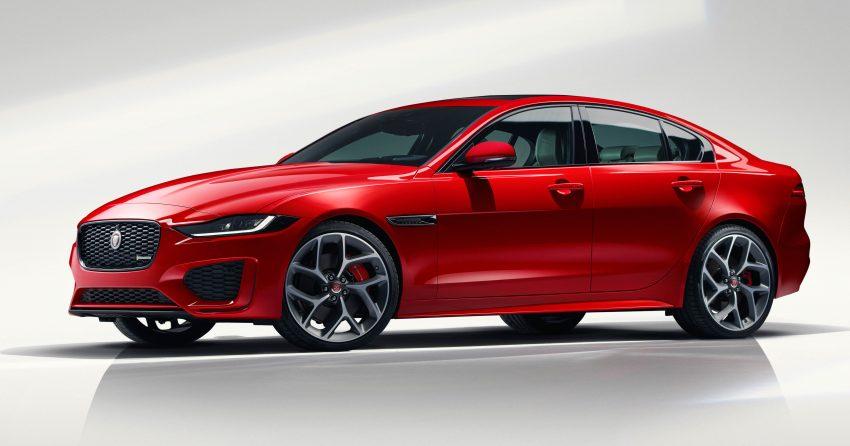 Jaguar XE 小改款发布,新引擎、外型设计再进化 Image #89057