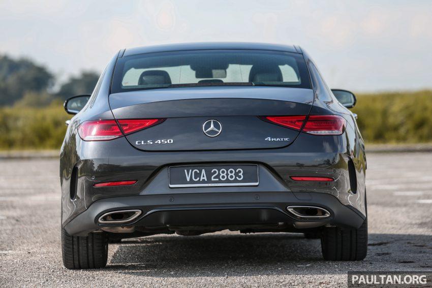 试驾:Mercedes-Benz CLS 450 与 Mercedes-AMG CLS 53,动力澎湃不失舒适,极致奢华与精致的四门豪华跑房 Image #87605