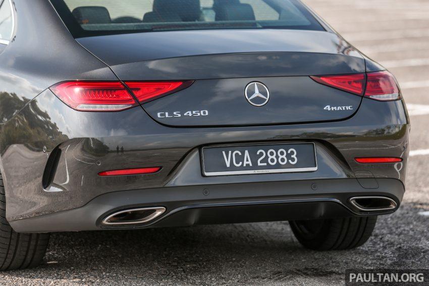 试驾:Mercedes-Benz CLS 450 与 Mercedes-AMG CLS 53,动力澎湃不失舒适,极致奢华与精致的四门豪华跑房 Image #87623
