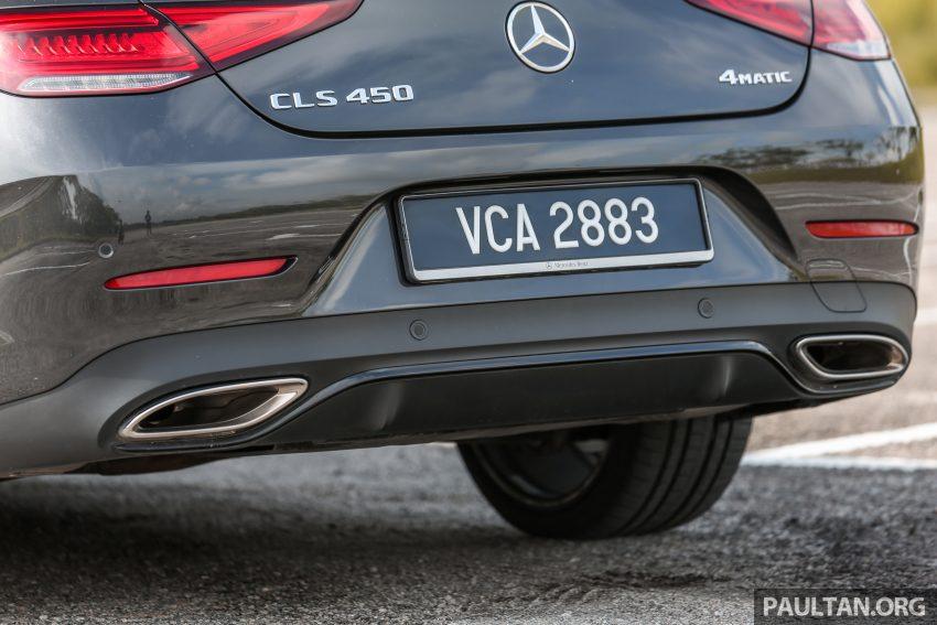试驾:Mercedes-Benz CLS 450 与 Mercedes-AMG CLS 53,动力澎湃不失舒适,极致奢华与精致的四门豪华跑房 Image #87628