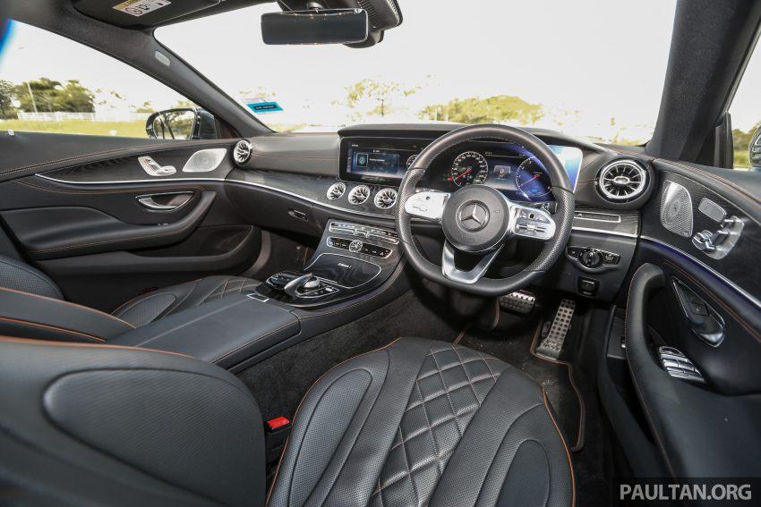 试驾:Mercedes-Benz CLS 450 与 Mercedes-AMG CLS 53,动力澎湃不失舒适,极致奢华与精致的四门豪华跑房 Image #87645