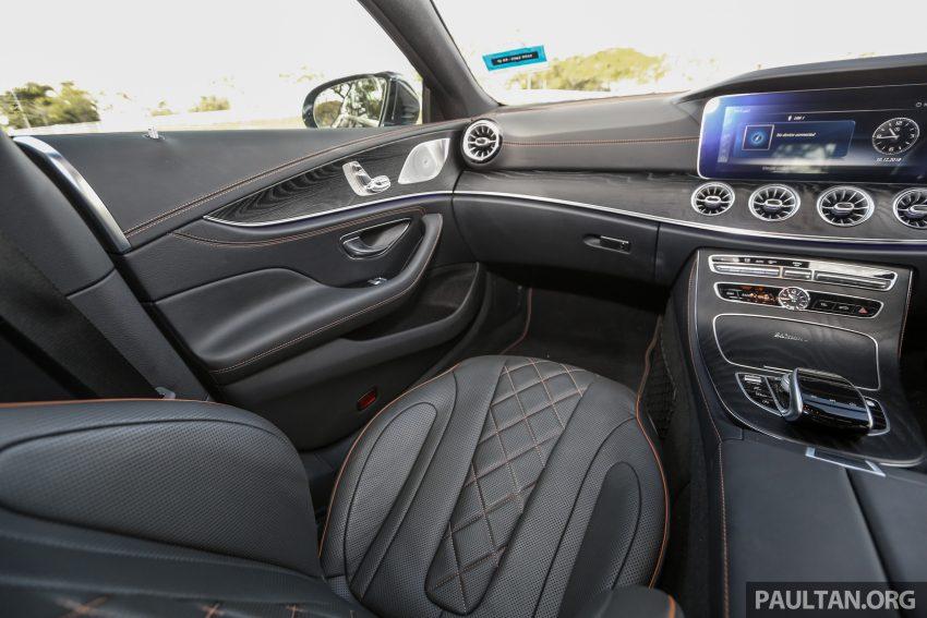 试驾:Mercedes-Benz CLS 450 与 Mercedes-AMG CLS 53,动力澎湃不失舒适,极致奢华与精致的四门豪华跑房 Image #87647