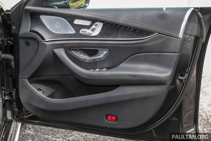 试驾:Mercedes-Benz CLS 450 与 Mercedes-AMG CLS 53,动力澎湃不失舒适,极致奢华与精致的四门豪华跑房 Image #87648