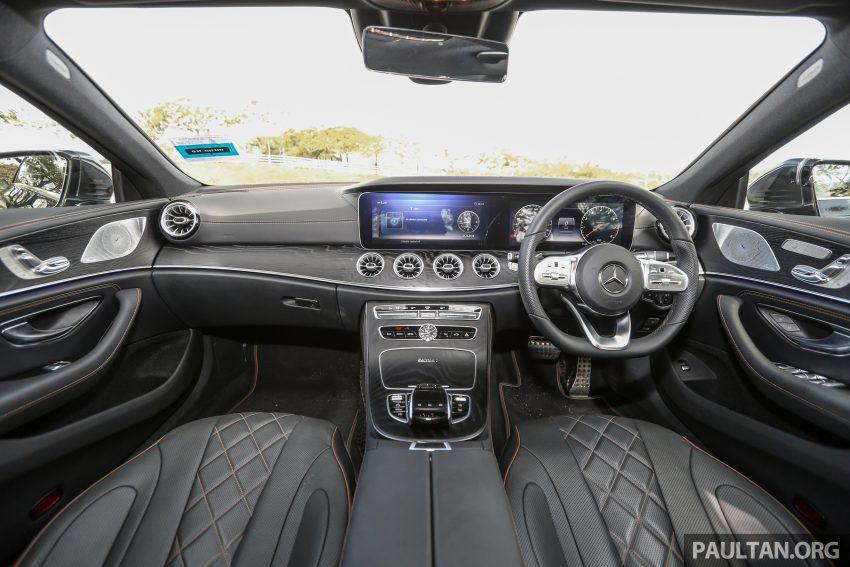 试驾:Mercedes-Benz CLS 450 与 Mercedes-AMG CLS 53,动力澎湃不失舒适,极致奢华与精致的四门豪华跑房 Image #87632