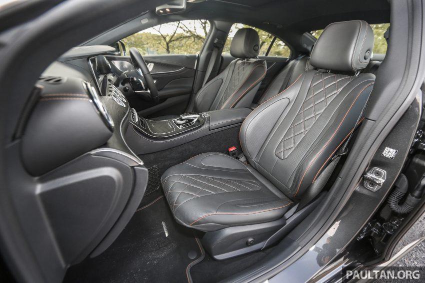 试驾:Mercedes-Benz CLS 450 与 Mercedes-AMG CLS 53,动力澎湃不失舒适,极致奢华与精致的四门豪华跑房 Image #87653