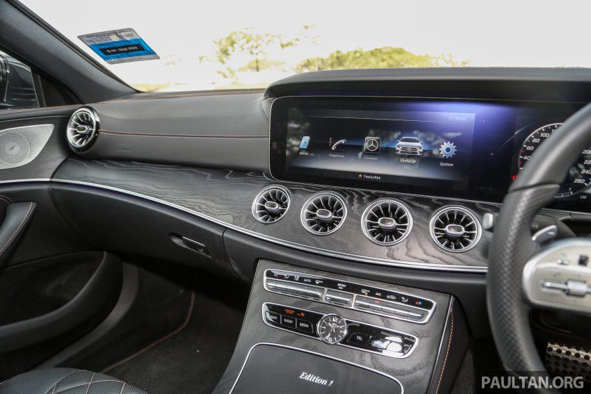 试驾:Mercedes-Benz CLS 450 与 Mercedes-AMG CLS 53,动力澎湃不失舒适,极致奢华与精致的四门豪华跑房 Image #87635