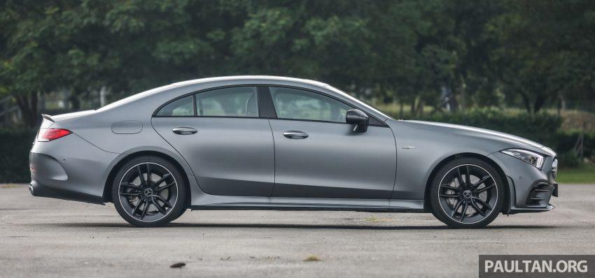 试驾:Mercedes-Benz CLS 450 与 Mercedes-AMG CLS 53,动力澎湃不失舒适,极致奢华与精致的四门豪华跑房 Image #88427