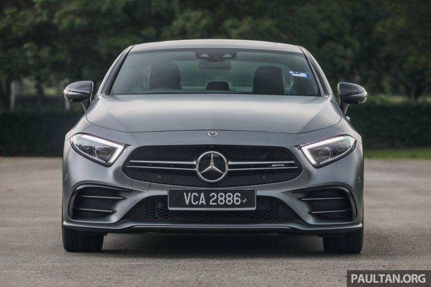 试驾:Mercedes-Benz CLS 450 与 Mercedes-AMG CLS 53,动力澎湃不失舒适,极致奢华与精致的四门豪华跑房 Image #88429