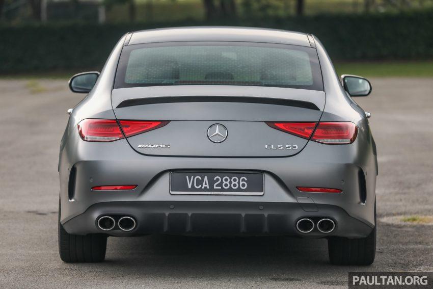 试驾:Mercedes-Benz CLS 450 与 Mercedes-AMG CLS 53,动力澎湃不失舒适,极致奢华与精致的四门豪华跑房 Image #88430