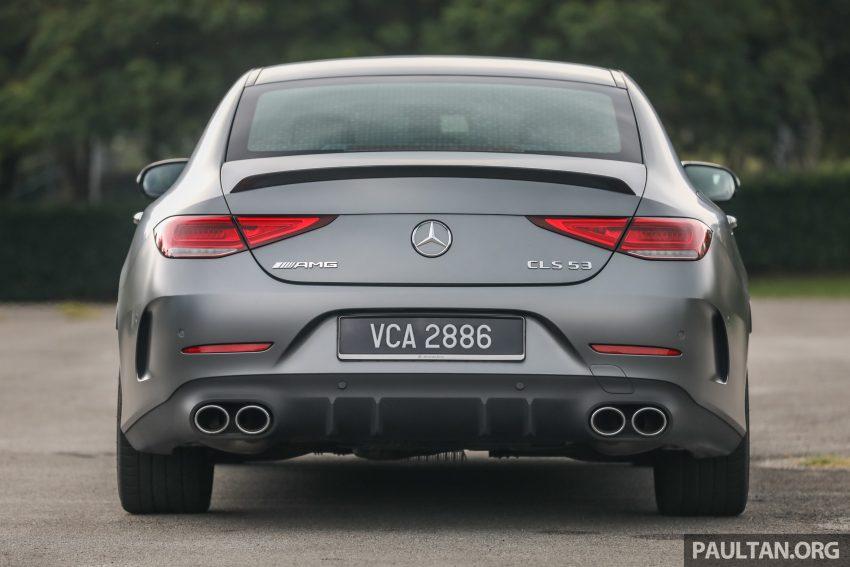试驾:Mercedes-Benz CLS 450 与 Mercedes-AMG CLS 53,动力澎湃不失舒适,极致奢华与精致的四门豪华跑房 Image #88431