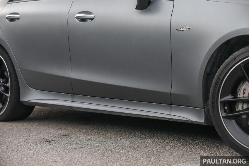 试驾:Mercedes-Benz CLS 450 与 Mercedes-AMG CLS 53,动力澎湃不失舒适,极致奢华与精致的四门豪华跑房 Image #88443