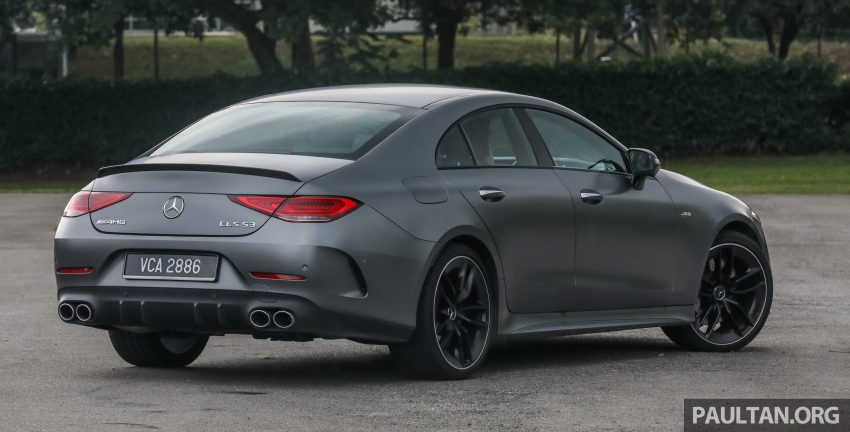 试驾:Mercedes-Benz CLS 450 与 Mercedes-AMG CLS 53,动力澎湃不失舒适,极致奢华与精致的四门豪华跑房 Image #88422