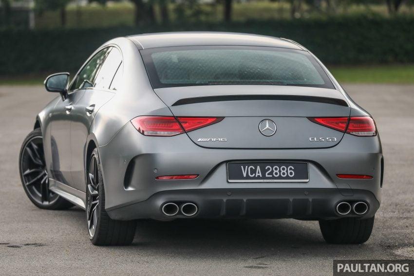 试驾:Mercedes-Benz CLS 450 与 Mercedes-AMG CLS 53,动力澎湃不失舒适,极致奢华与精致的四门豪华跑房 Image #88424