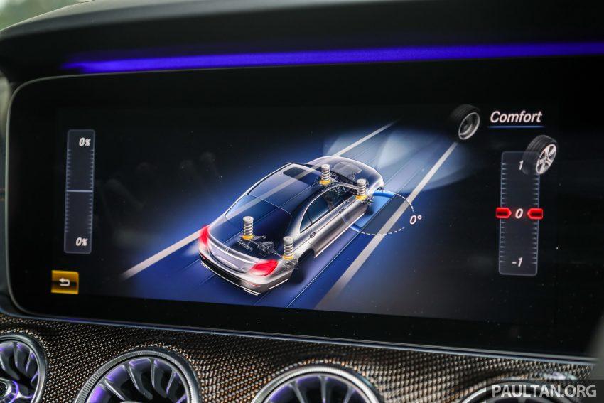 试驾:Mercedes-Benz CLS 450 与 Mercedes-AMG CLS 53,动力澎湃不失舒适,极致奢华与精致的四门豪华跑房 Image #88471