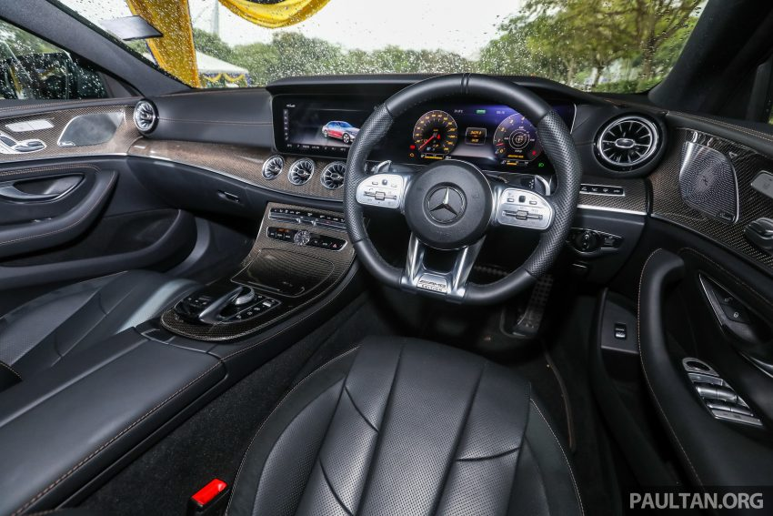 试驾:Mercedes-Benz CLS 450 与 Mercedes-AMG CLS 53,动力澎湃不失舒适,极致奢华与精致的四门豪华跑房 Image #88483