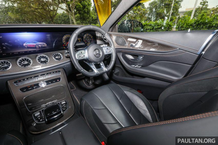 试驾:Mercedes-Benz CLS 450 与 Mercedes-AMG CLS 53,动力澎湃不失舒适,极致奢华与精致的四门豪华跑房 Image #88484