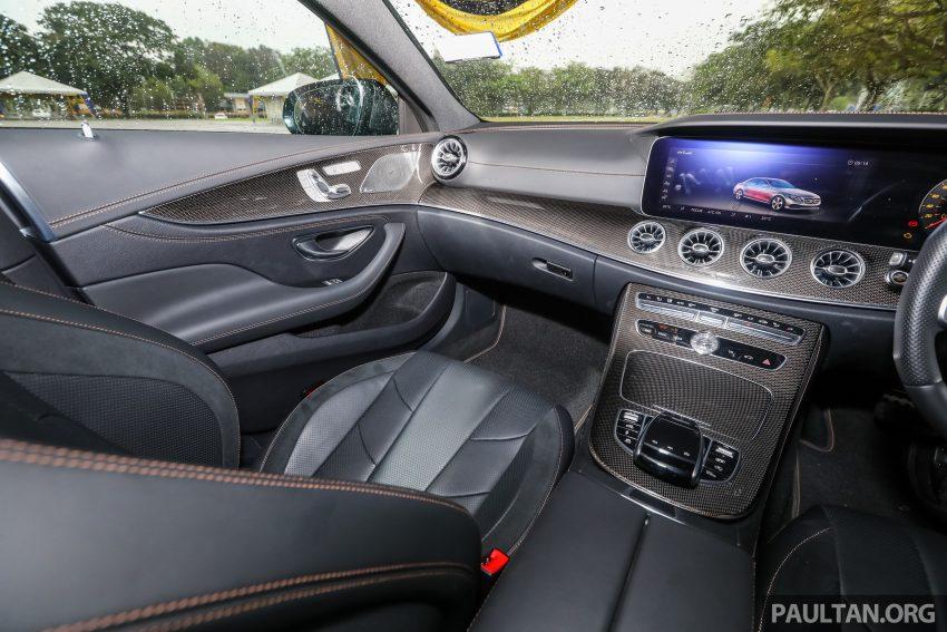 试驾:Mercedes-Benz CLS 450 与 Mercedes-AMG CLS 53,动力澎湃不失舒适,极致奢华与精致的四门豪华跑房 Image #88485