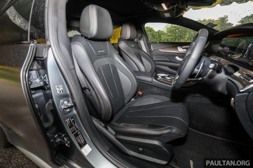 试驾:Mercedes-Benz CLS 450 与 Mercedes-AMG CLS 53,动力澎湃不失舒适,极致奢华与精致的四门豪华跑房 Image #88487