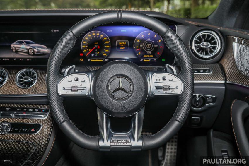 试驾:Mercedes-Benz CLS 450 与 Mercedes-AMG CLS 53,动力澎湃不失舒适,极致奢华与精致的四门豪华跑房 Image #88461