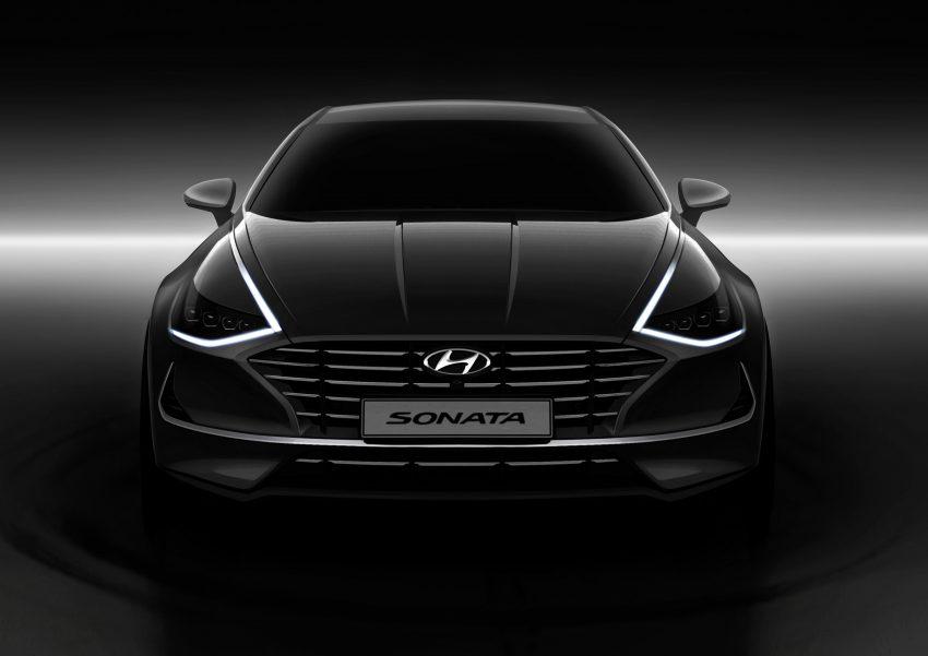 第八代全新 Hyundai Sonata 全球首发,改走四门跑房路线 Image #89828