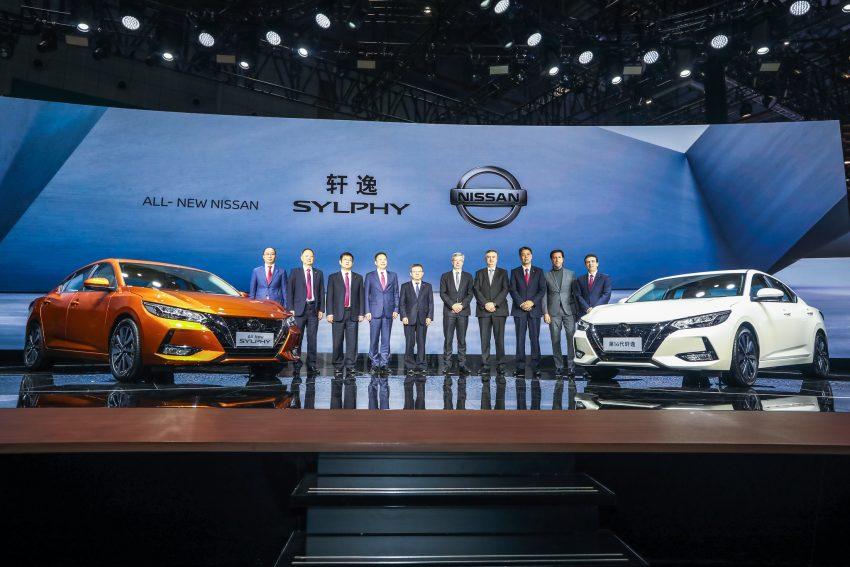 第四代 Nissan Sylphy 上海首发, 内外全新设计更具时代感 Image #93299