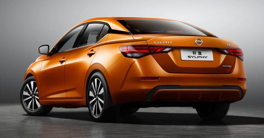 第四代 Nissan Sylphy 上海首发, 内外全新设计更具时代感 Image #93292
