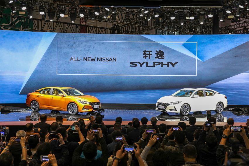 第四代 Nissan Sylphy 上海首发, 内外全新设计更具时代感 Image #93298