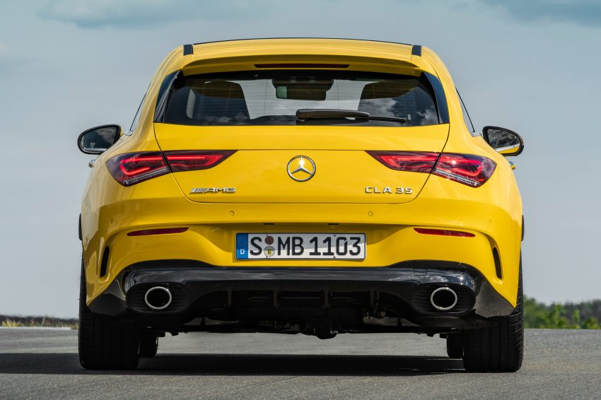 Mercedes-AMG CLA 35 Shooting Brake 发布, 4.9秒破百 Image #97326