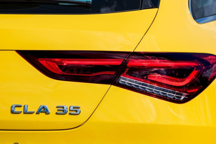 Mercedes-AMG CLA 35 Shooting Brake 发布, 4.9秒破百 Image #97327