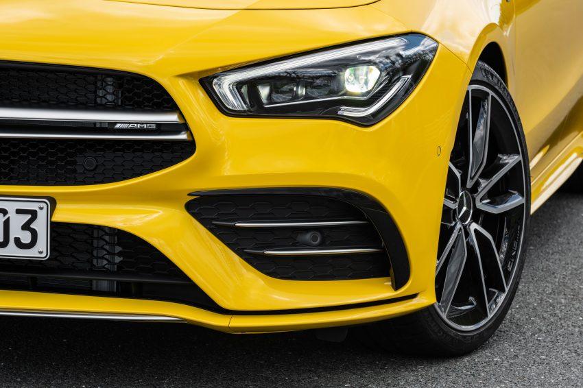 Mercedes-AMG CLA 35 Shooting Brake 发布, 4.9秒破百 Image #97329
