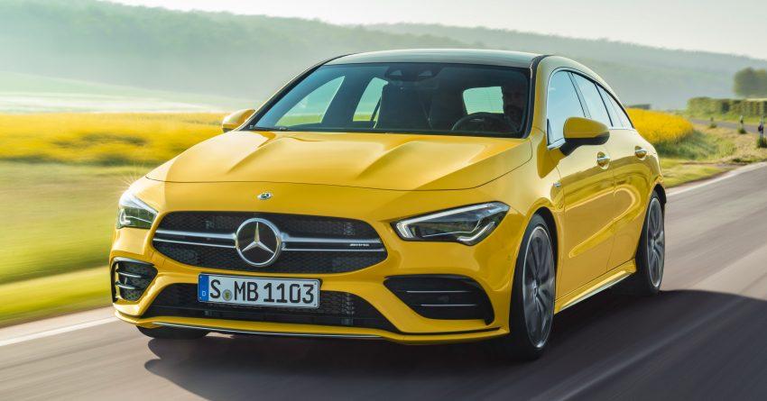 Mercedes-AMG CLA 35 Shooting Brake 发布, 4.9秒破百 Image #97332