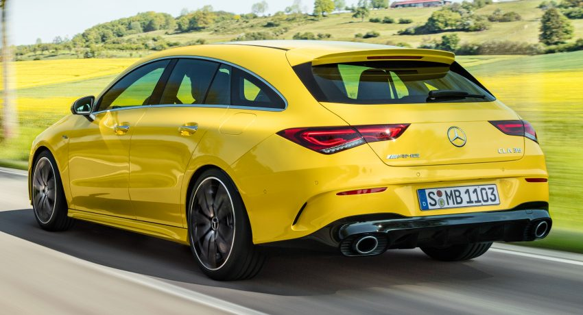 Mercedes-AMG CLA 35 Shooting Brake 发布, 4.9秒破百 Image #97334