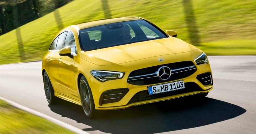 Mercedes-AMG CLA 35 Shooting Brake 发布, 4.9秒破百 Image #97318