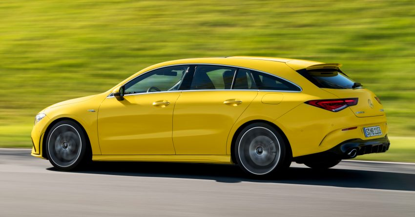 Mercedes-AMG CLA 35 Shooting Brake 发布, 4.9秒破百 Image #97320