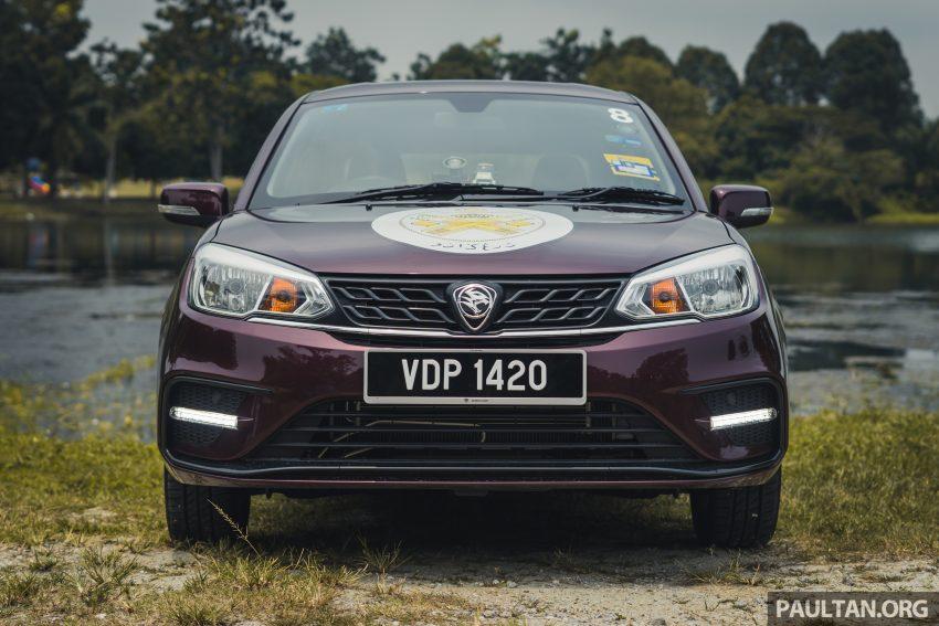 新车试驾:2019 Proton Saga 小改款,终于抓对了重点 Image #103145