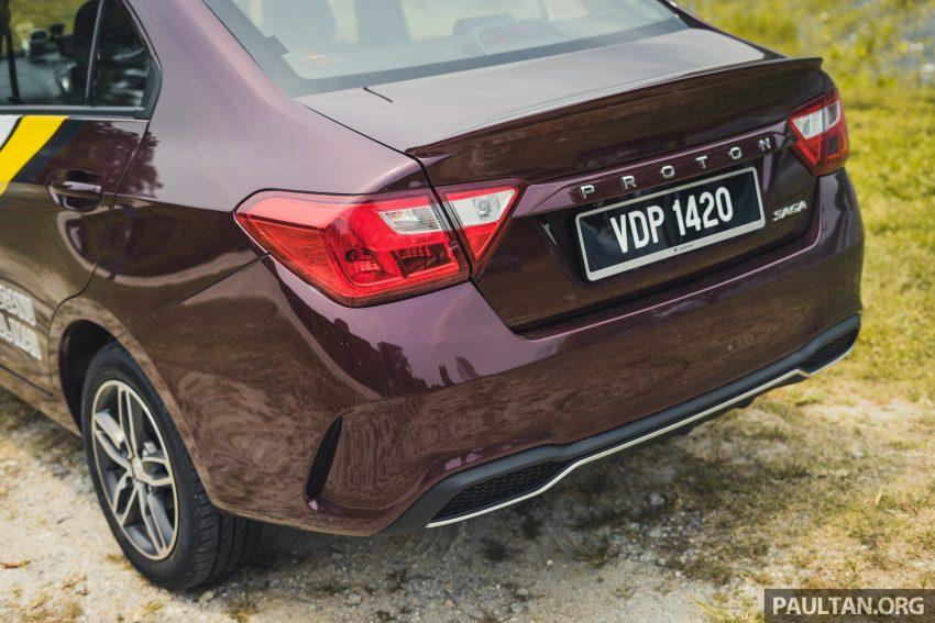新车试驾:2019 Proton Saga 小改款,终于抓对了重点 Image #103159