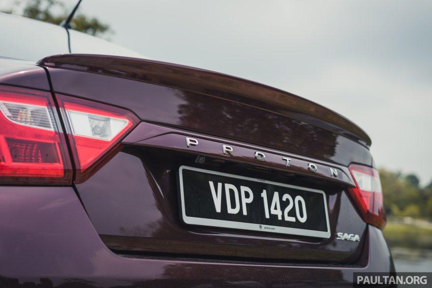 新车试驾:2019 Proton Saga 小改款,终于抓对了重点 Image #103161