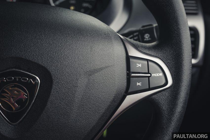 新车试驾:2019 Proton Saga 小改款,终于抓对了重点 Image #103170