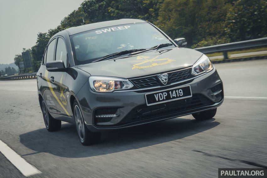 新车试驾:2019 Proton Saga 小改款,终于抓对了重点 Image #103143