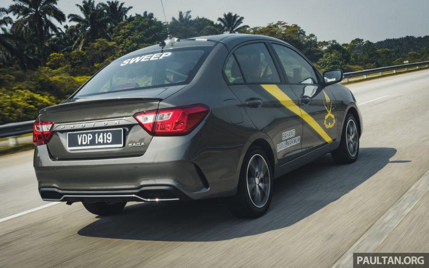 新车试驾:2019 Proton Saga 小改款,终于抓对了重点 Image #103144