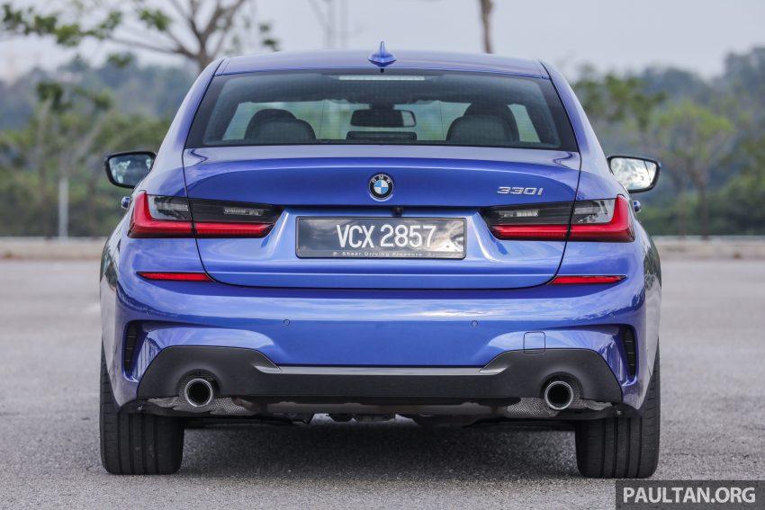 新车试驾:G20 BMW 330i M Sport,操控驾驶迷的首选! Image #104545
