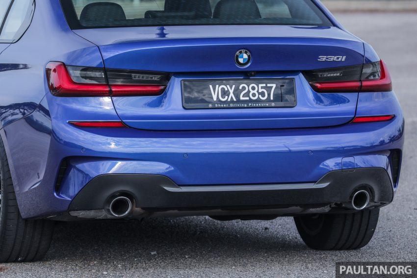 新车试驾:G20 BMW 330i M Sport,操控驾驶迷的首选! Image #104559
