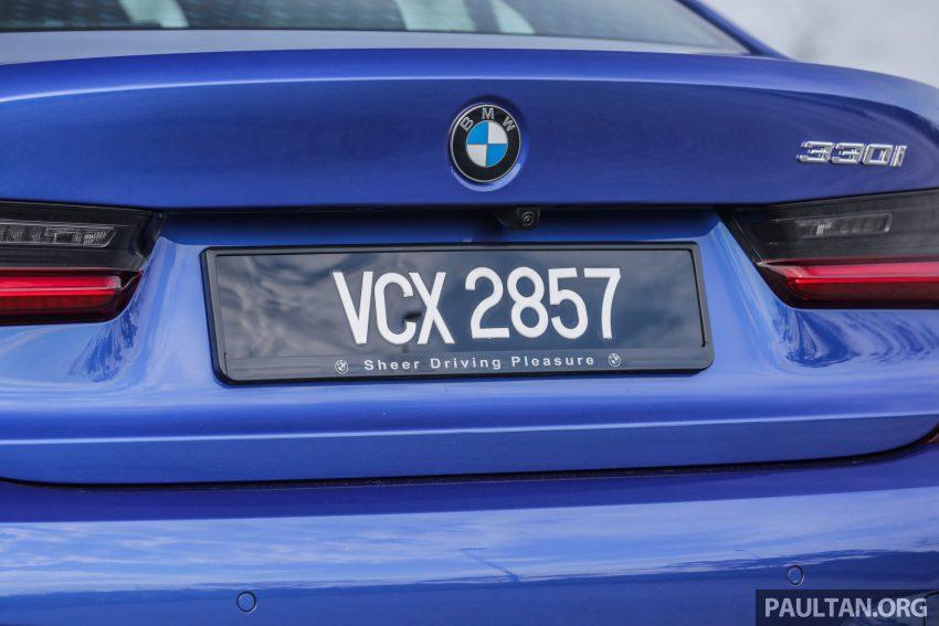 新车试驾:G20 BMW 330i M Sport,操控驾驶迷的首选! Image #104563