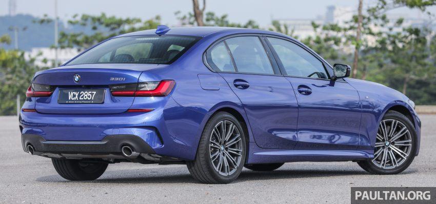 新车试驾:G20 BMW 330i M Sport,操控驾驶迷的首选! Image #104537