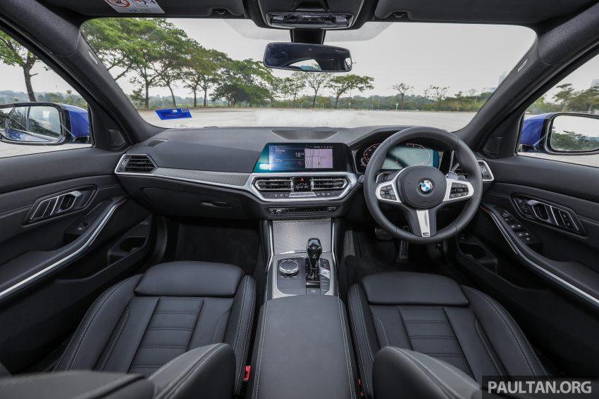 新车试驾:G20 BMW 330i M Sport,操控驾驶迷的首选! Image #104569