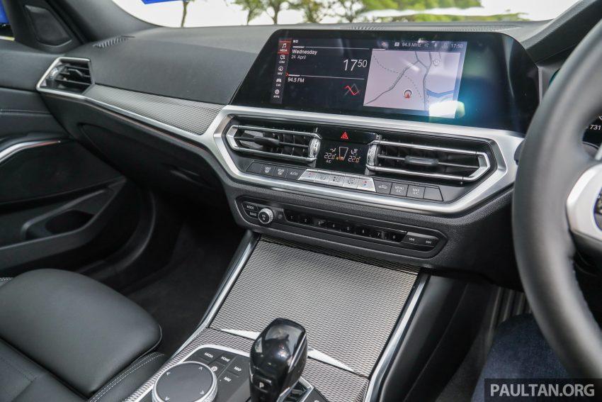 新车试驾:G20 BMW 330i M Sport,操控驾驶迷的首选! Image #104583